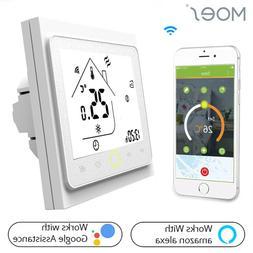 Smart WiFi <font><b>Thermostat</b></font> Temperature Contro