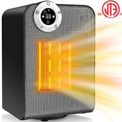 Space Heater, Portable Electric Ceramic Heaters for Office,