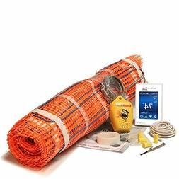 SunTouch Mat  Floor Heat Kit 20 sq ft, 2x10 Ft Mat, Temperat