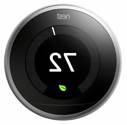 Nest T3007ES 3rd Generation Learning Programmable Thermostat