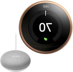 Nest T3021US Learning Thermostat - 3rd Gen -  with Google Mi