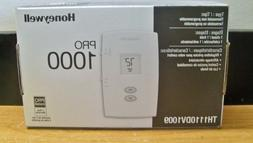 Honeywell TH1110DV1009 Pro 1000 Non-Programmable Thermostat