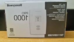 Honeywell TH1110DV1009 Pro 1000 Non-Programmable Thermostat