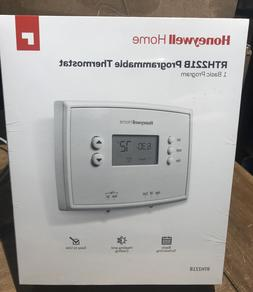 Honeywell Thermostat RTH221B1039 1 Week Home Programmable Di
