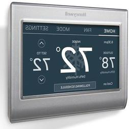 Honeywell Thermostat Smart Wi-Fi 7-Day Programmable Color To