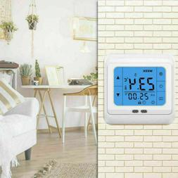 Touch Screen floor underfloor thermostat for Home Water&Elec