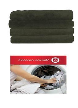 Sunbeam Heated Throw Blanket | Microplush, 3 Heat Settings,