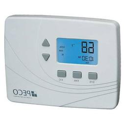 PECO TW205-001 Wireless Non-Programmable Thermostat White *N