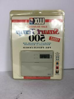 LUX TX500 Smart Temp Programmable Thermostat in New Packagin