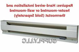 WALL ELECTRIC BASEBOARD HEATER by CADET Convection Heat 208V