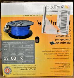 SunTouch Warm Wire Radiant Under Floor Heating Wire 60sq.ft.