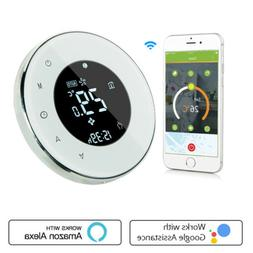 Water/Boiler Thermostat WIFI Weekly Programmable Voice Contr