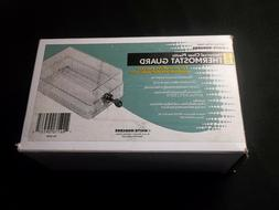 White Rodgers  Universal Clear Plastic Thermostat Guard With