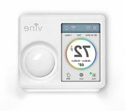 Vine Wi-Fi Smart Thermostat with Touchscreen and Nightlight