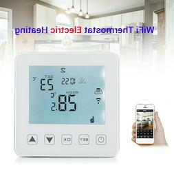 WiFi Programmable Thermostat Electric LCD Smart APP Home Ama