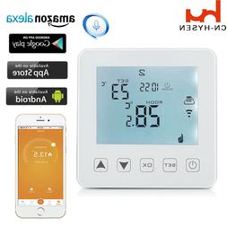 wifi programmable thermostat electric touch screen digital