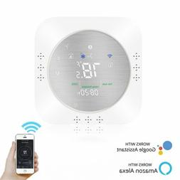 Wifi Smart Thermostat Heat Pump Temperature Controller Wirel