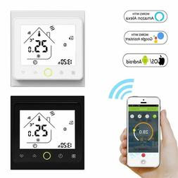 Wifi Smart Thermostat Temperature Water Floor Gas Works With