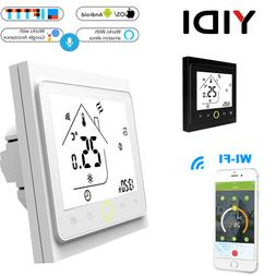 WIFI Smart Touch <font><b>Thermostat</b></font> Water Heatin