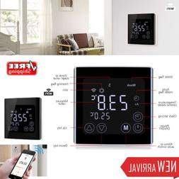 FLOUREON YC17.GH3 Home LCD Touch Screen Wifi Thermostat W/ M