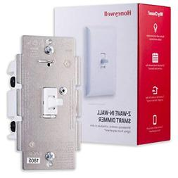 Honeywell Z-Wave Plus Smart Light Dimmer Switch, In-Wall Tog
